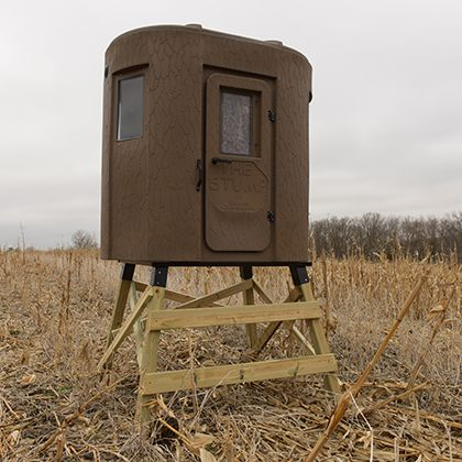 banks stump 2 hunting blind deer stand