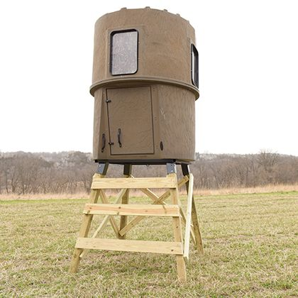 banks stump 3 hunting blind deer stand